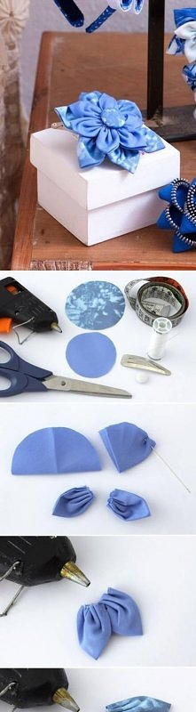 how to make, beautiful, cloth, flower