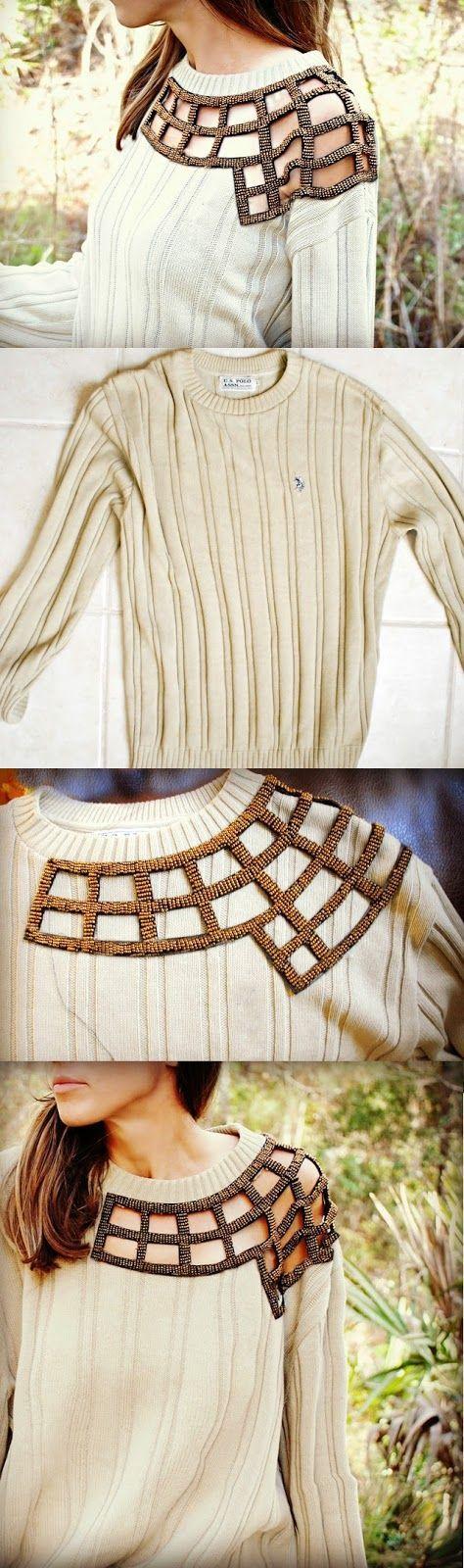 Jak ze starego sweterka zrobić coś zupełnie nowego i modnego