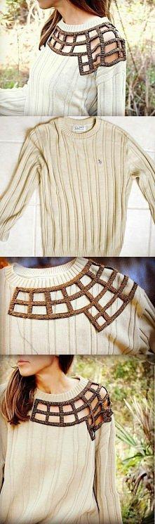 Jak ze starego sweterka zro...