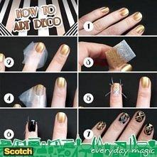 how to make, nail, art, deco
