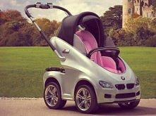 wózek bmw dla nowoczesnych dzieci ;)