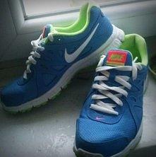 Moje Nike do biegania <3 uwielbiam je <3