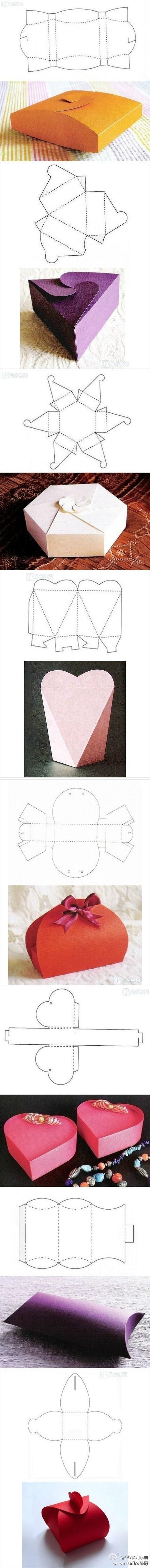 jak zrobić pudełka
