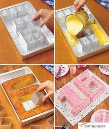 Ciekawa forma do tortów (人・_・)♡