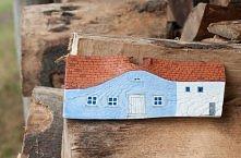 drewniany domek diy