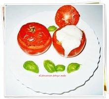 zapiekane pomidory z farszem