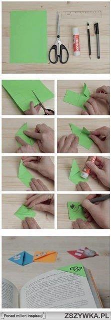 fajny pomysł na zakładkę ;)