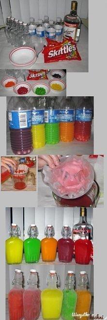 skittlesowa wódka :D