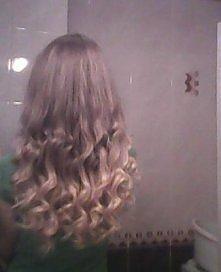 Moje włosy:) Przepraszam za...