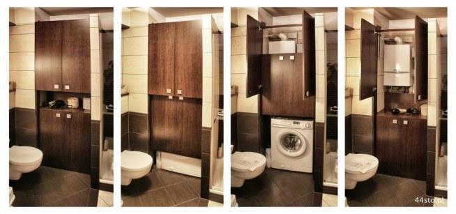 Zabudowa Małej łazienki Na Wnętrza Zszywkapl