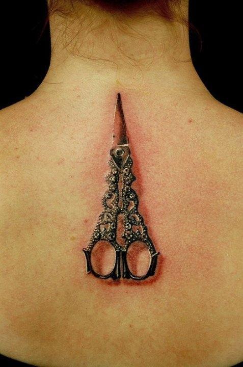 Tattoo Dla Fryzjera Na Tatoo Zszywkapl