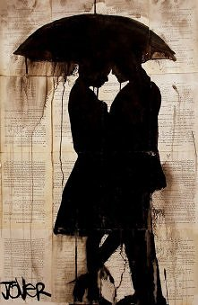 rain lovers by L. Jover
