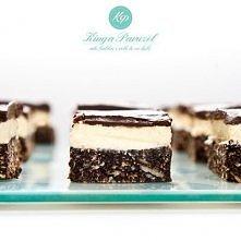 Nanaimo Bars – Ciasto prosto z Kanady: Składniki na spód: ½ szklanki masła ⅓ ...