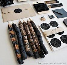 niesamowite drewiane ołówki