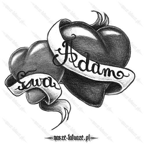 Tatuaż Serca Z Imionami Ma Ktoś Z Was Takie Wyznanie Na