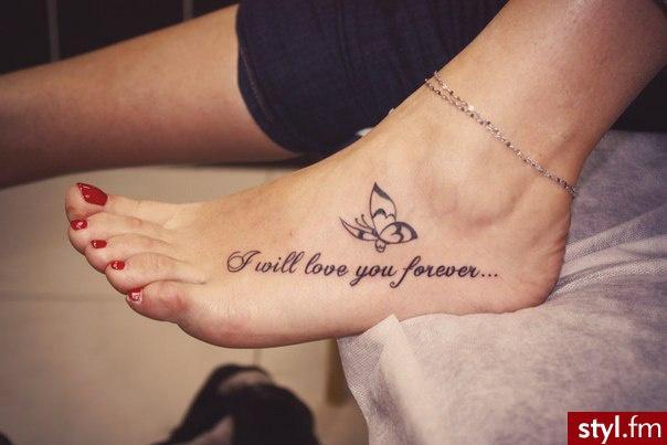 Napisy Na Stopie Na Tatuaże Zszywkapl