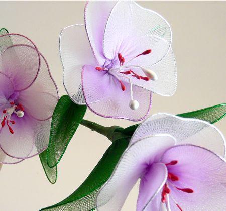 Kwiaty z rajstop :)klik w obrazek