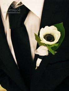 Piękna kwiat do butonierki