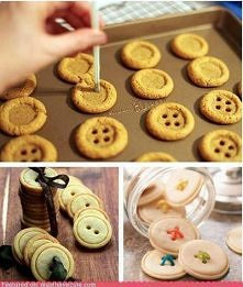 Ciastka - guziki