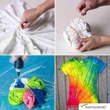 Farbowanie koszulki