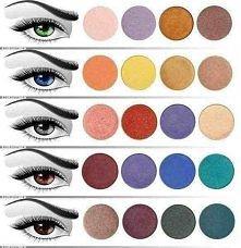 Oczy - dobór koloru