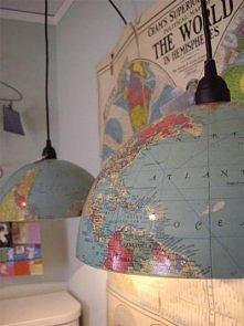 lampa z globusu
