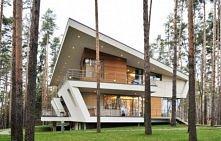 Nowoczesna rezydencja z dachem stromym