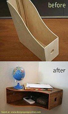 oryginalna półka narożna