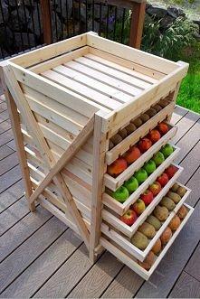 diy, produce, holder, shelf...