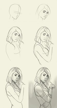 Jak narysować dziewczynę?..♥