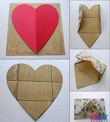 koperta z serca