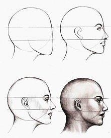 Jak narysować twarz z profi...