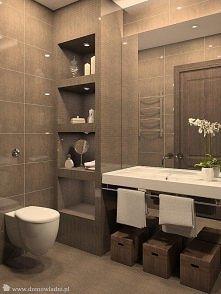 minimalistyczna łazienka