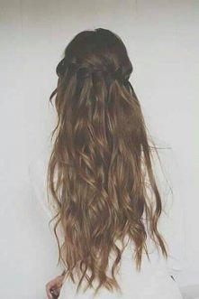 piękne długie włosy :3