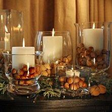 jesienne świeczniki