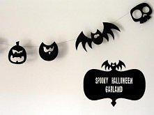 Halloween Garland (wzory do wydrukowania)