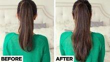 diy, longer ponytail, tutorial, hairstyle