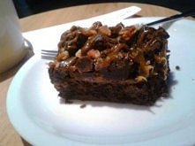 toffi brownie