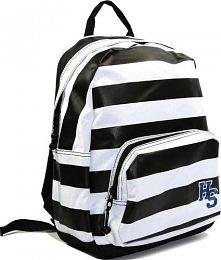 Śliczny plecak w paski ♥