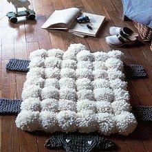 dywan-owca, cudny i mięki
