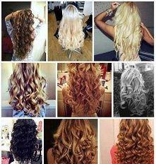 Włosy - fale