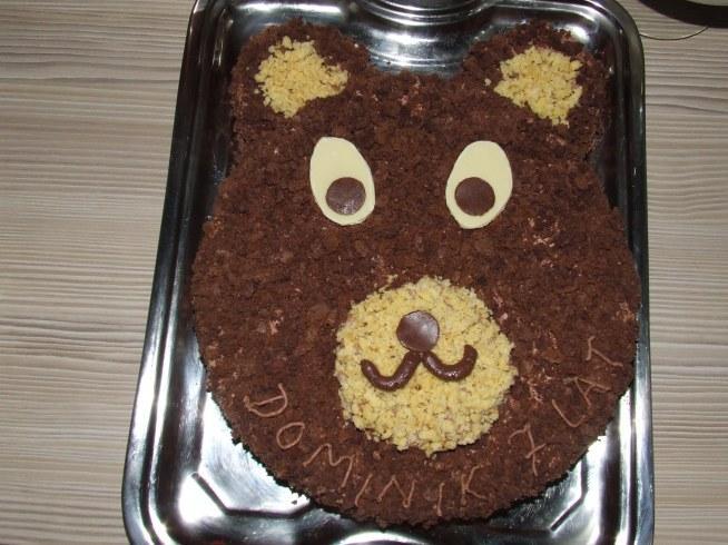 Urodzinowy miś:)