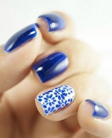 chabrowy manicure
