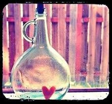 dekoracja z butelki