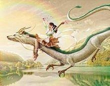 Genialny fanart z anime Spirited Away: W krainie Bogów