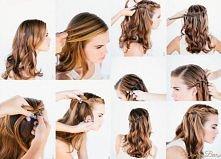 Podoba wam się taka fryzura? Jak dla mnie fajna na każdą okazję ;D