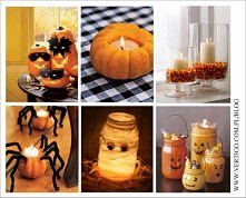 jesienno - halloweenowe dek...