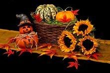 halloween'owa dekoracja