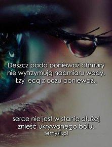 łzy....