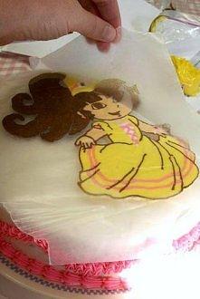jak samemu prosto zrobiś dekorację tortu. Kliknij w zdjęcie.